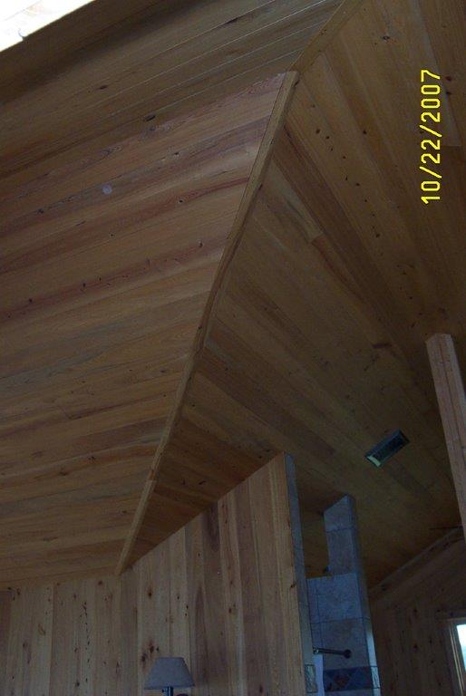 Interior Uses Of Cypress Lumber Paneling Tongue And